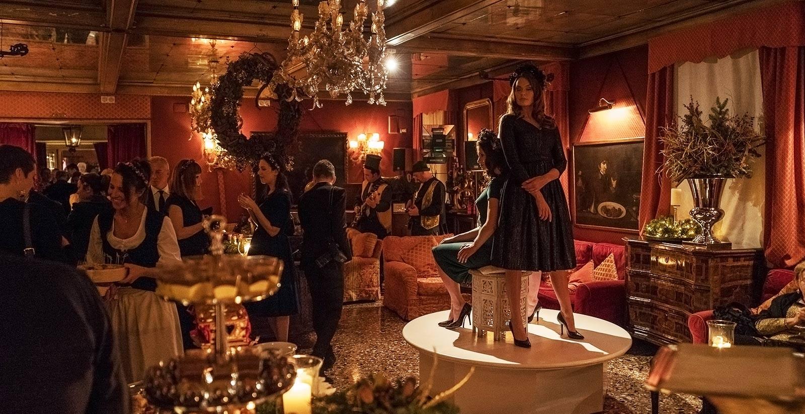 Un evento all'Hotel Metropole di Venezia.