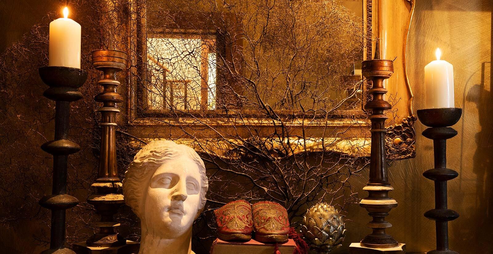 La collezione d'arte del Metropole.