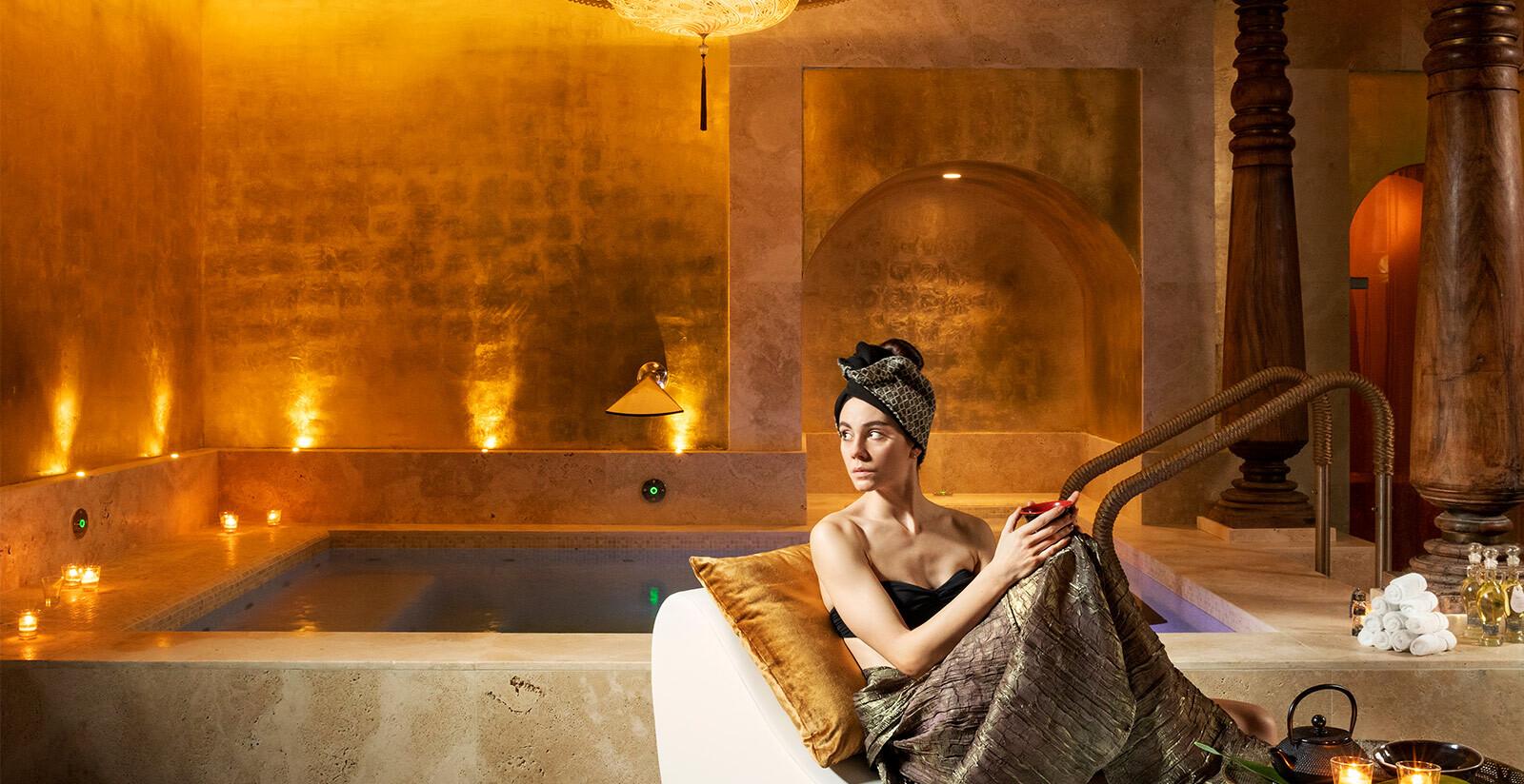 La spa dell'Hotel Metropole a Venezia.