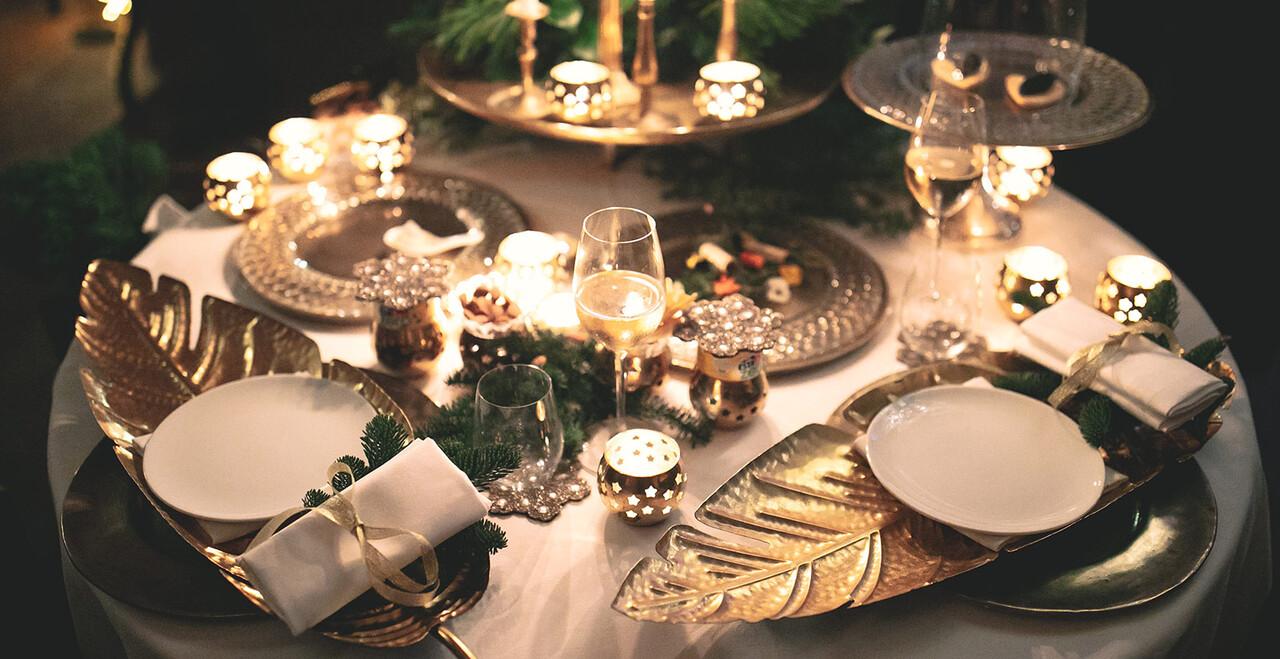 Una cena di matrimonio a Venezia.