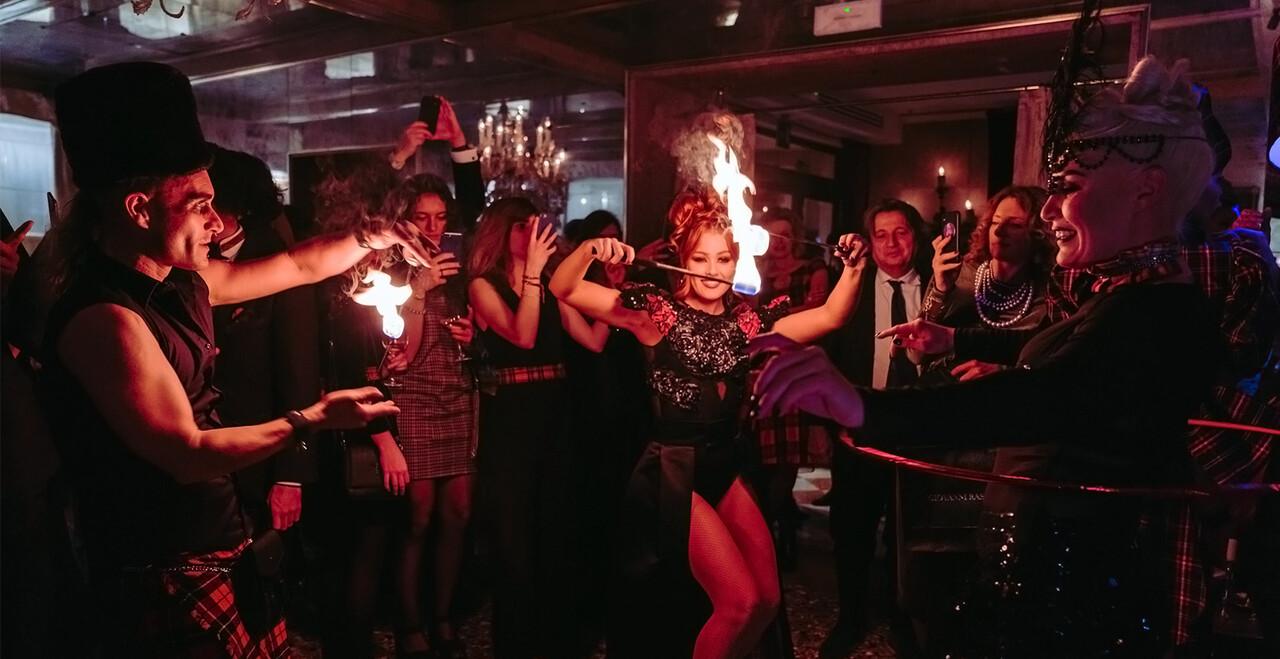 Evento sparkling a Venezia all'Hotel Metropole