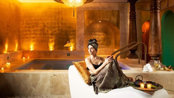 La spa dell'Hotel Metropole di Venezia.
