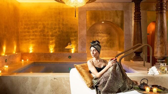 La spa a Venezia dell'Hotel Metropole.