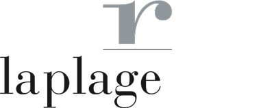 La Plage Resort Logo White